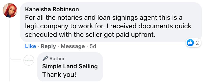 Kaneisha Robinson comment